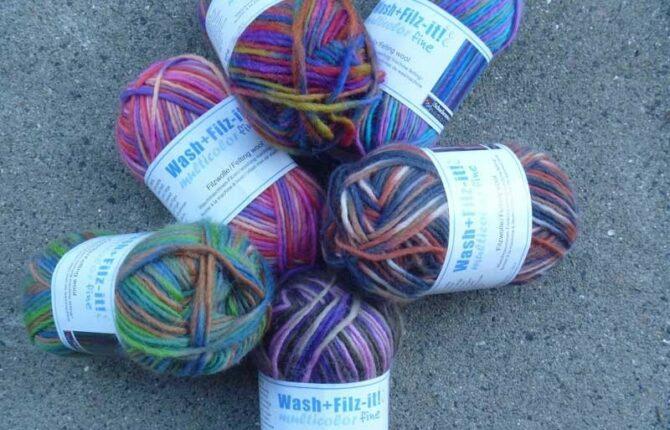 Wash + Filz-It bei Filz und Wolle
