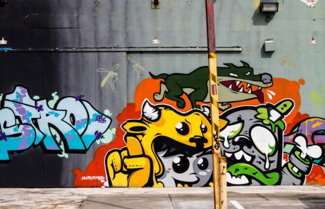 Miami - Wynwood Walls Art District