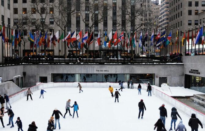 Schlittschuhlaufen / Eislaufen in New York