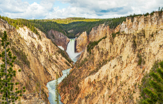 Yellowstone National Park Steckbrief - Geologie