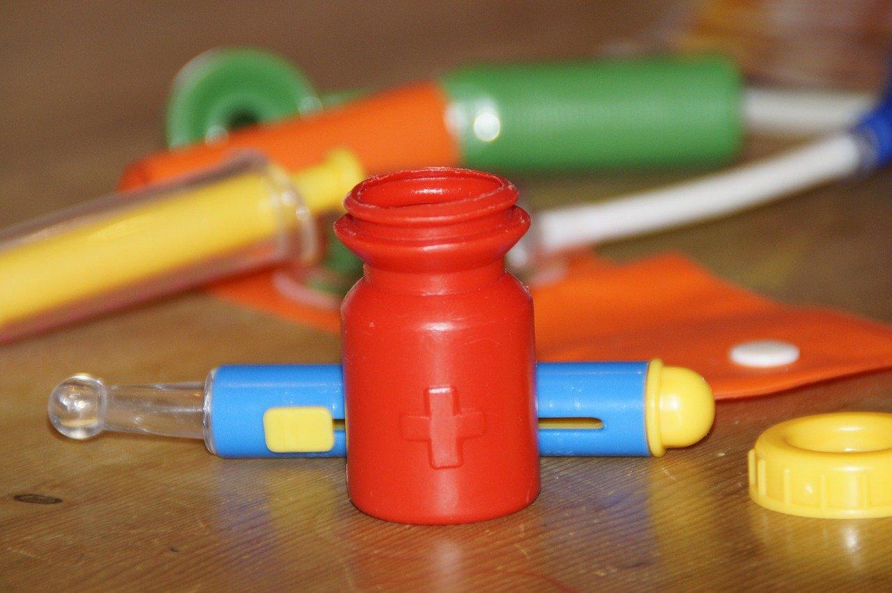 Doktor Bibber Kinderspiel – Geschicklichkeit, Spielablauf