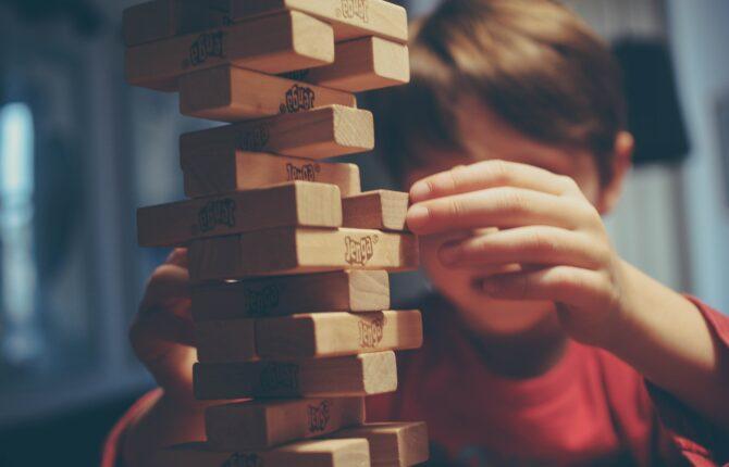 Jenga Spiel & Spielregeln, Geschichte, Höchster Turm