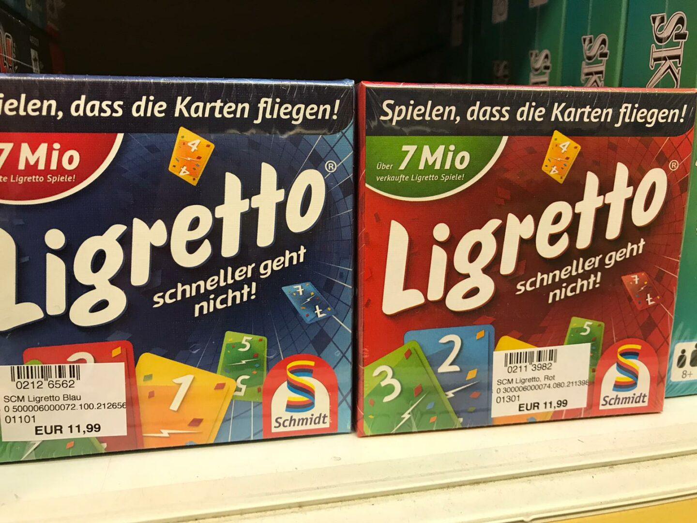 Ligretto Spiel – Anleitung, Spielverlauf, Spielerweiterungen