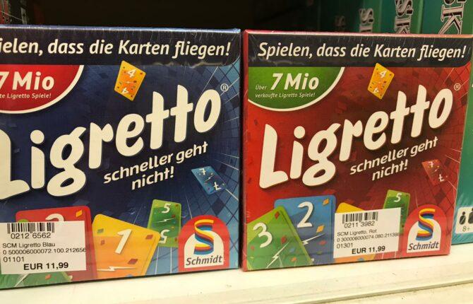 Ligretto Spiel - Anleitung, Spielverlauf, Spielerweiterungen