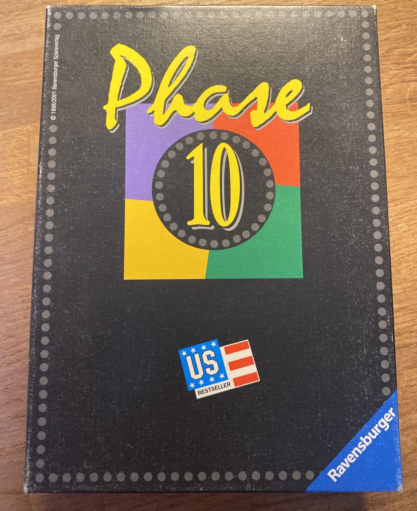 Phase 10 Spiel – Spielregeln & Spielverlauf, Phasen