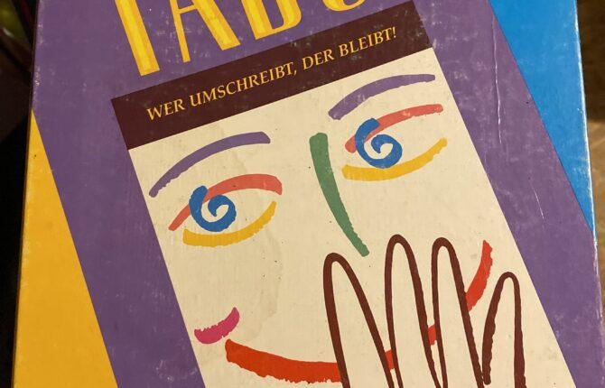 Tabu Spiel - Zubehör, Spielregeln, Ausgaben