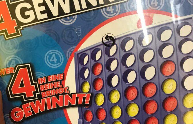 Vier gewinnt Spiel - Spielregeln, Strategie, Spielvarianten