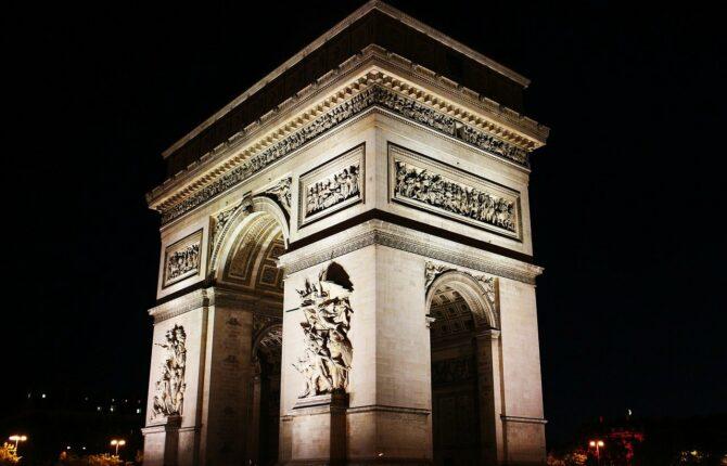 Arc de Triomphe Steckbrief - Maße, Geschichte