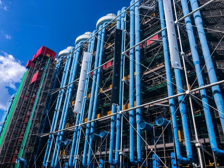 Centre Pompidou – Geschichte, Architektur