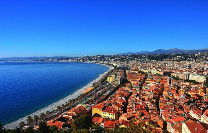 Côte d'Azur - Lage & Städte, Herkunft des Names
