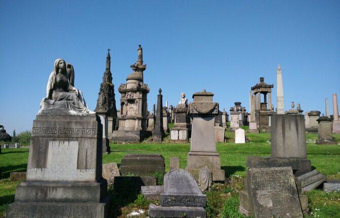 Glasgow Necropolis - Hintergrund, Geschichte, Begräbnisse