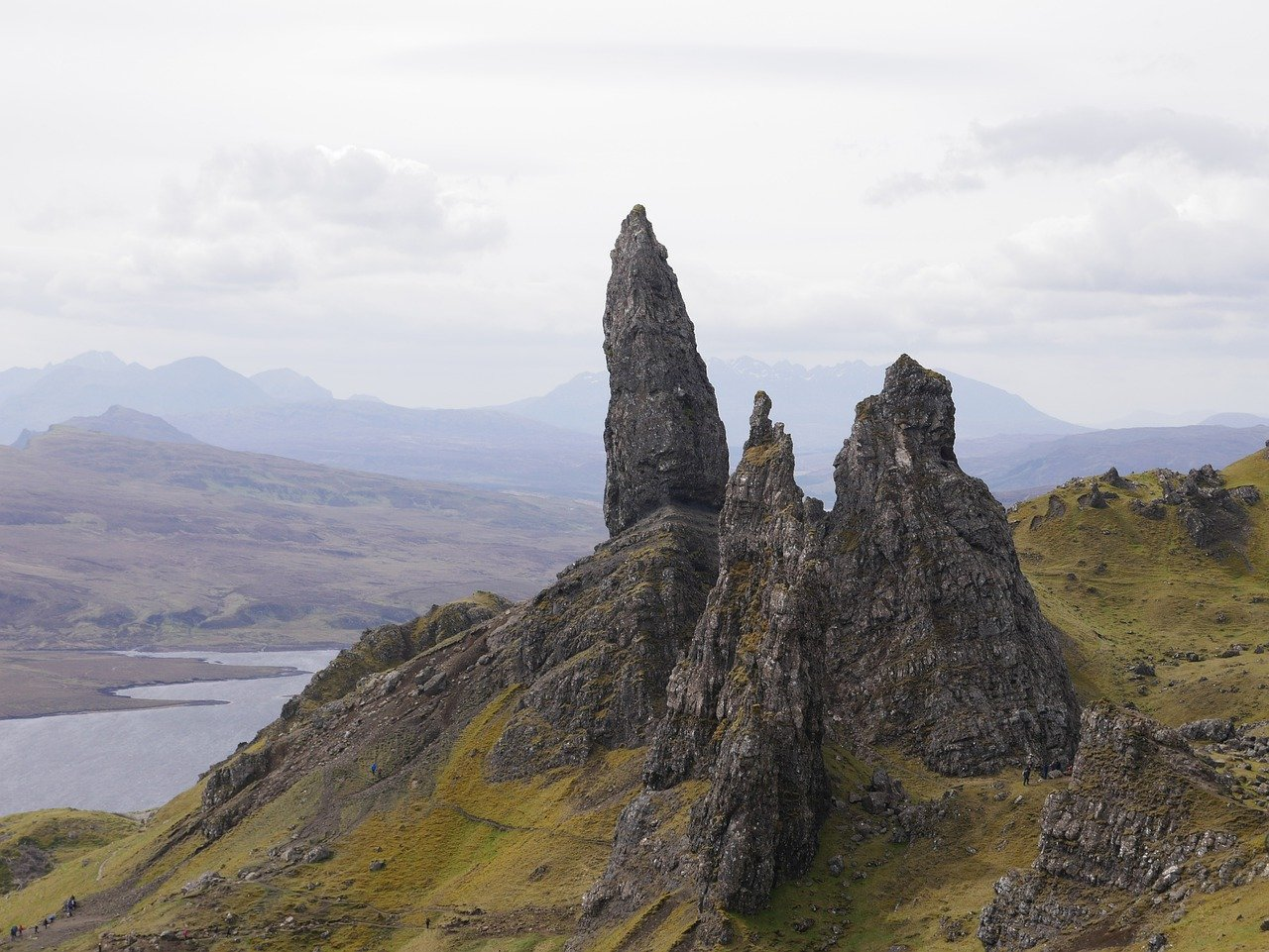 Old man of Storr – Geologie, Wanderrouten