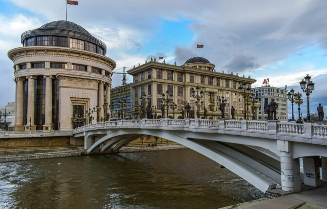 Skopje Steckbrief - Geographie