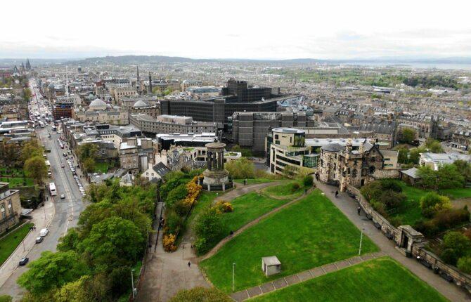 Calton Hill in Edinburgh - Geschichte