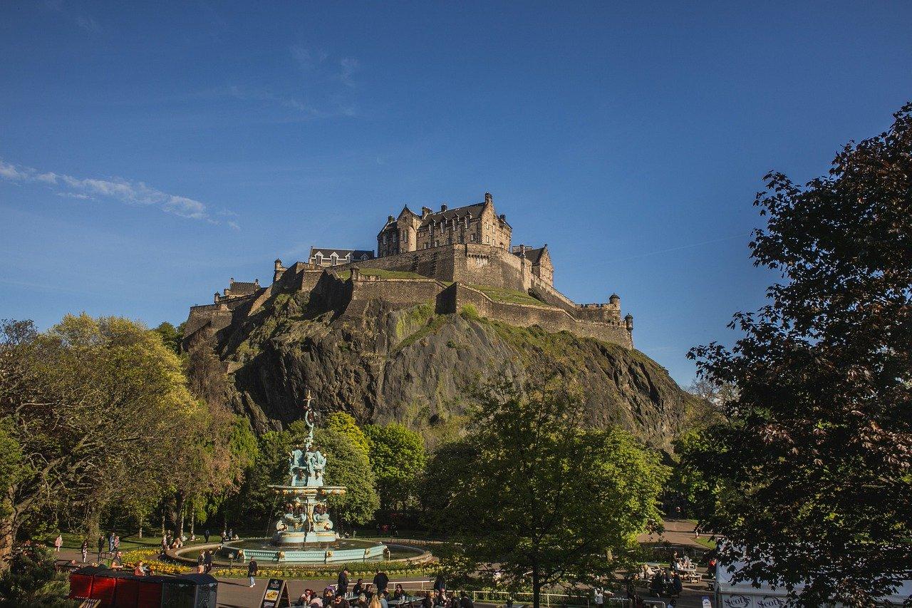 Edinburgh Schloss Schottland – Geschichte