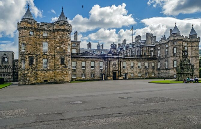 Holyrood Palace - Architektur