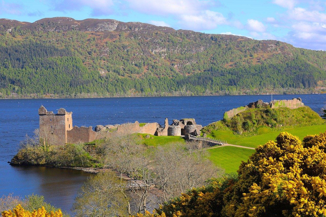 Urquhart Castle in Schottland – Geschichte