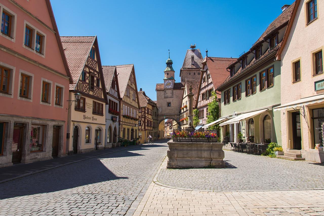 Rothenburg ob der Tauber Steckbrief – Name, Geschichte